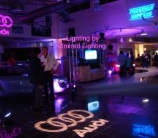 Audi-night-different color logos