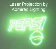 LASER PROJECTION-PEPSI-ADMIRED