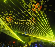 Lasers at Liv-Admired-Yellow-10-26-12