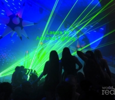Lasers at Liv-Admired-green-10-26-12