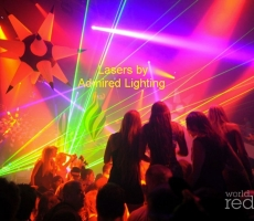 Lasers at Liv-Multicolor-Admired-10-26-12